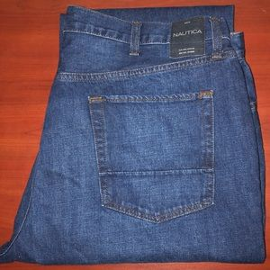 Nautica straight leg men's jeans 40x32